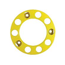 Ковпак металевий на колесо відкритий 22,5 Жовтий