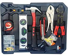 Набір інструментів 399 предмета в Алюмінієвому валізі, фото 2