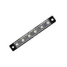 Габаритний ліхтар світлодіодний Білий 24v 6LED NOKTA