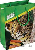 Пакет бумажный подарочный, 18х24см Animal Planet