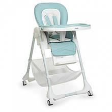 Детский стульчик для кормления 3822 TIFFANY BLUE