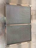 Многоразовый алюминиевый жироулавливающий фильтр, фото 3