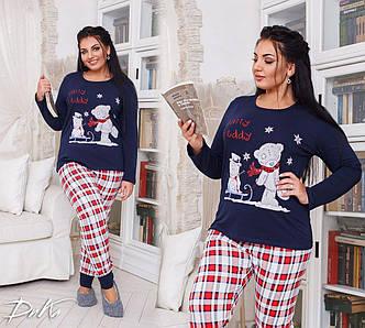 Пижама в больших размерах (DG-д712)