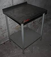 Стіл виробничий на метал. основі 700х600х850 мм., (Україна), Б/у, фото 1