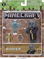 Фігурка заклинатель Эвокер Майнкрафт Minecraft Core Evoker Figure Pack оригінал Jazwares