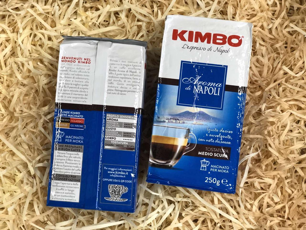 Кофе Kimbo Aroma di Napoli 250г