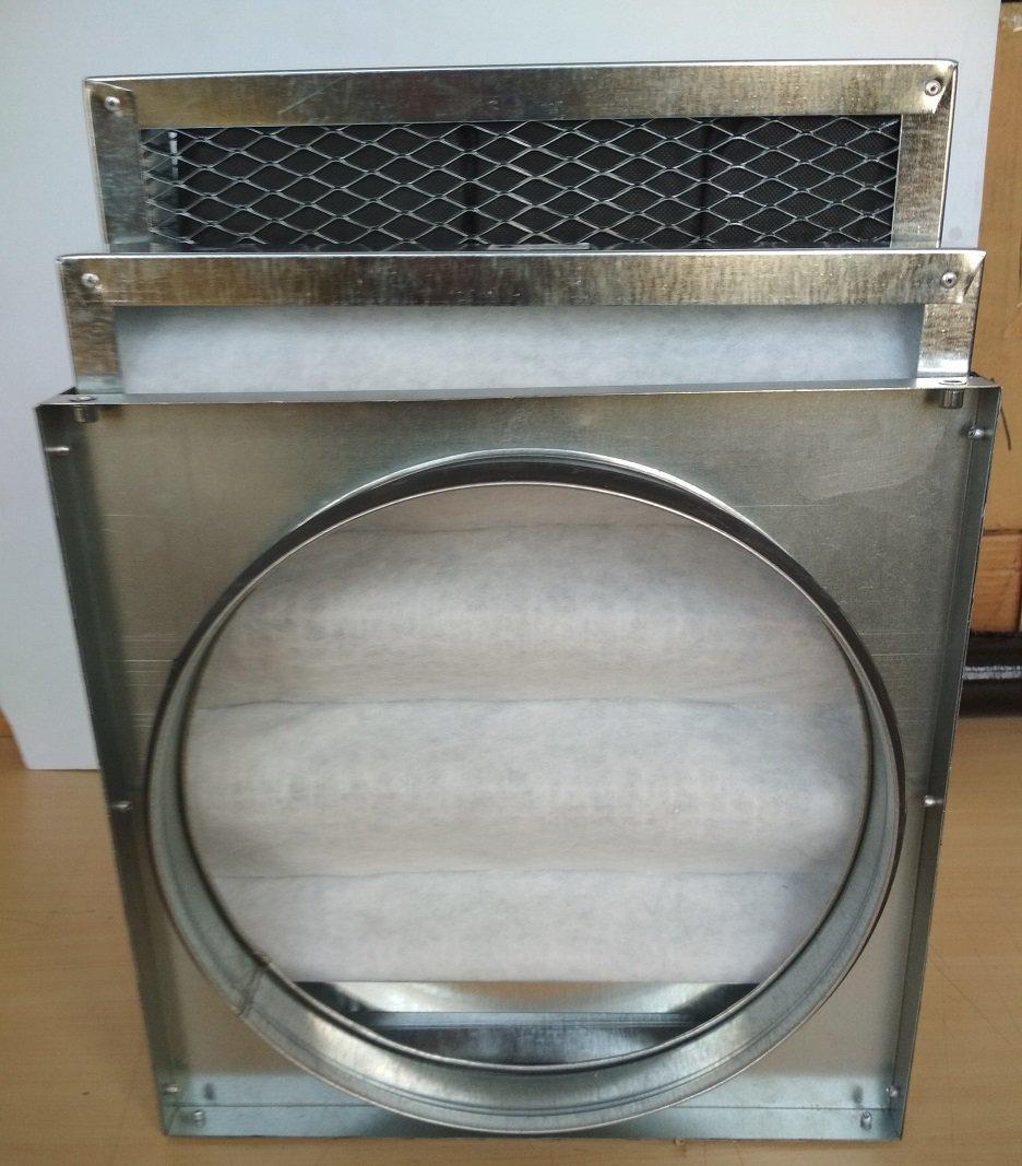 вугільний фільтр для вентиляції 150