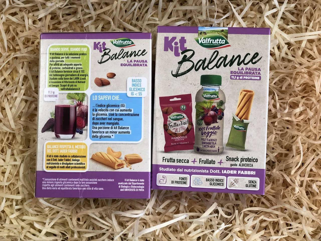 Набор Kit Balance Valfrutta миндаль