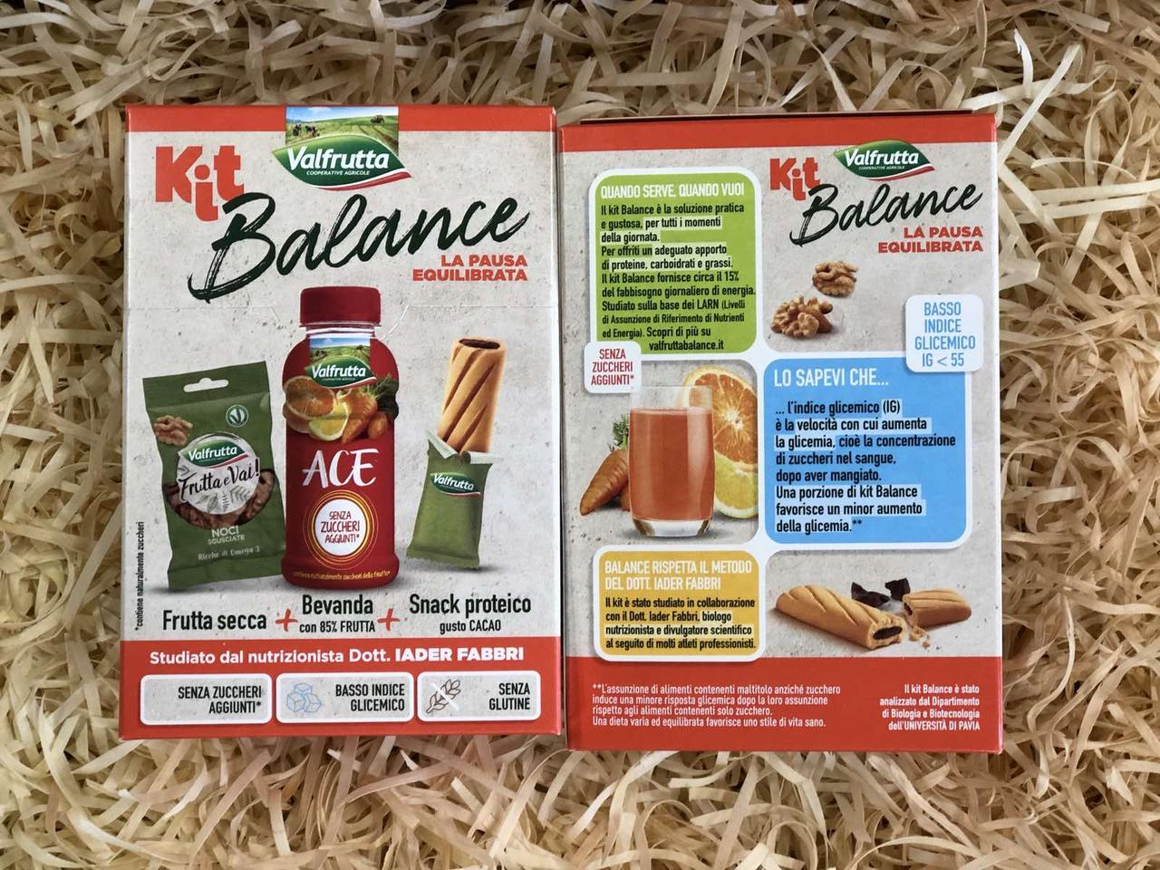 Набор Valfrutta Kit Balance с грецкими орехами