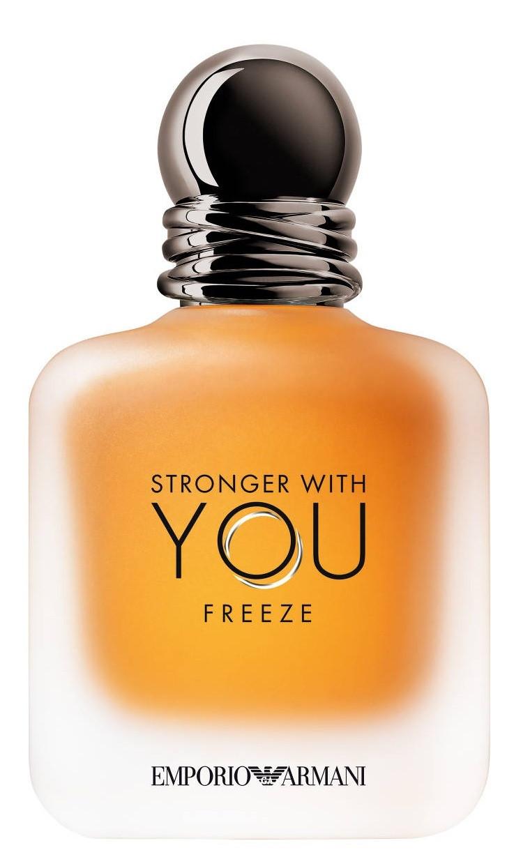 Оригінал Giorgio Armani Stronger With You Freeze 100ml Чоловіча EDT Джорджіо Армані Сильніше з тобою Фриз