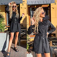 Женское платье черного цвета SKU-11-261348