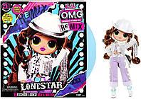 Кукла ЛОЛ ОМГ Леди-кантри серии Ремикс L.O.L Surprise! O.M.G. Remix Lonestar Fashion Doll (567233)