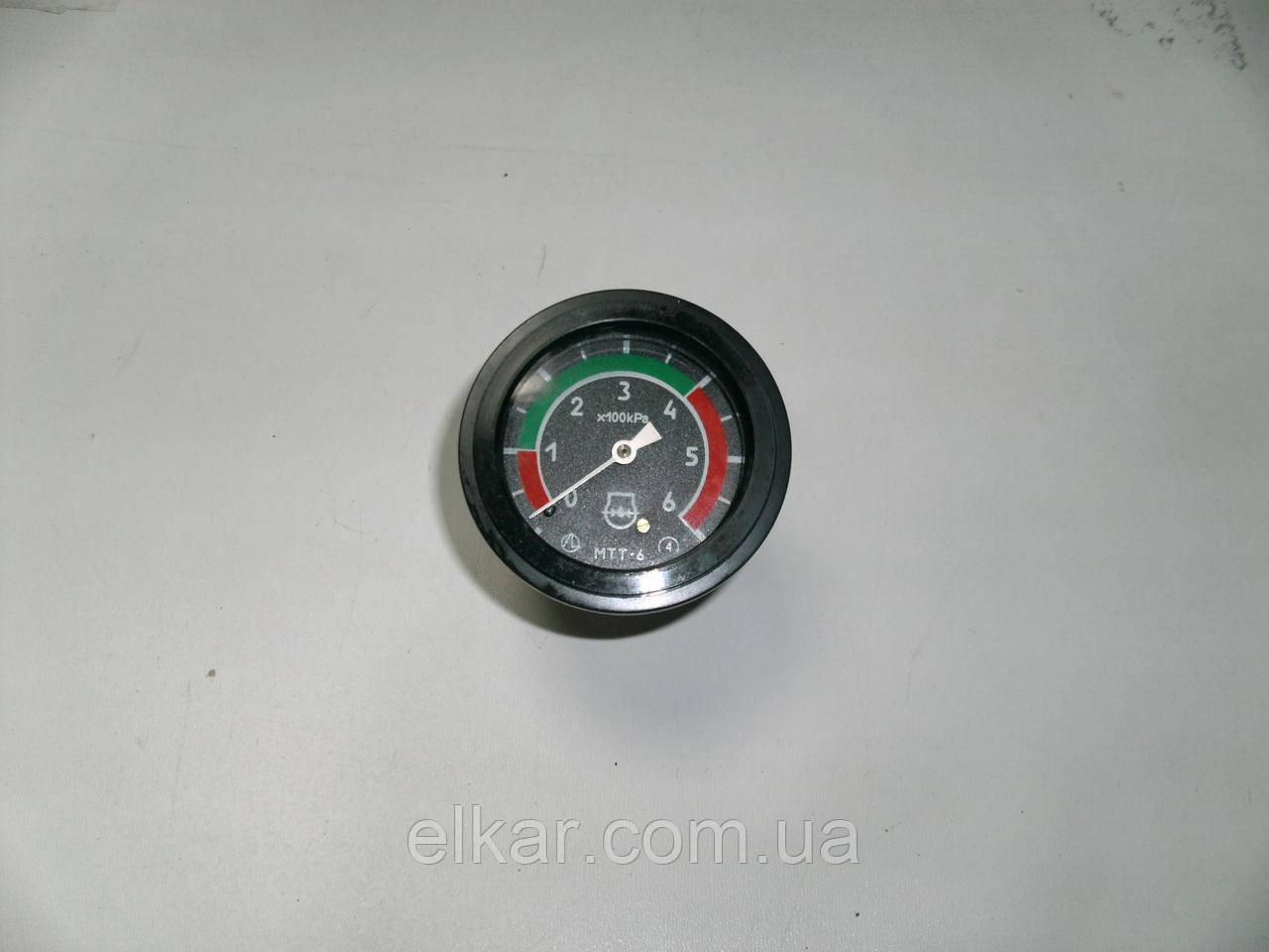 Покажчик тиску масла (6 атм.) Т-150, ХТЗ-17221 МТТ-6 (вир-во Білорусь)