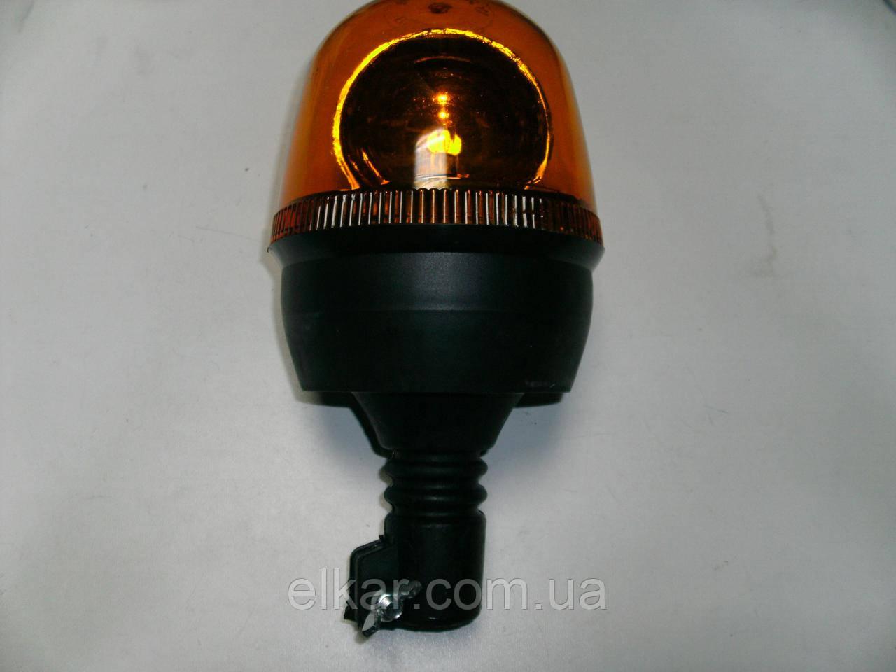 Ліхтар проблисковий на шток (хомут,тип Socket-бездротове з`єднання) 12В TR-07-01(вир-во Туречинна)