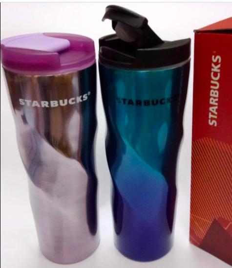 Термокружка термос мятый Starbucks 550 мл