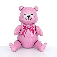 "Шар-ходячка ""Медвежонок розовый""   Размер:44см*81.5см., фото 1"