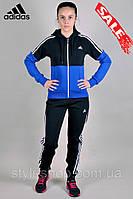 Женский зимний спортивный трикотажный костюм Adidas (Адидас) Зима (1122-3), Турция, спортивные костюмы