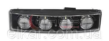 Ліхтар габаритний (кабіна) білий  SCANIA SERIE 4 - P-G-R-T (2004→) M621329