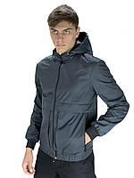 Мужская весенняя куртка, ветровка серая Sprinter DOS-59-259479