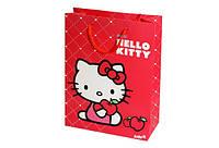 Пакет пластиковый подарочный, 18х24см Hello Kitty