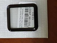 Стекло Full Glue Apple Watch 3D 38 mm (черный)