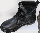 Берцы зимние мужские кожаные от производителя модель ТР1013, фото 3