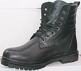 Берцы зимние мужские кожаные от производителя модель ТР1013, фото 2
