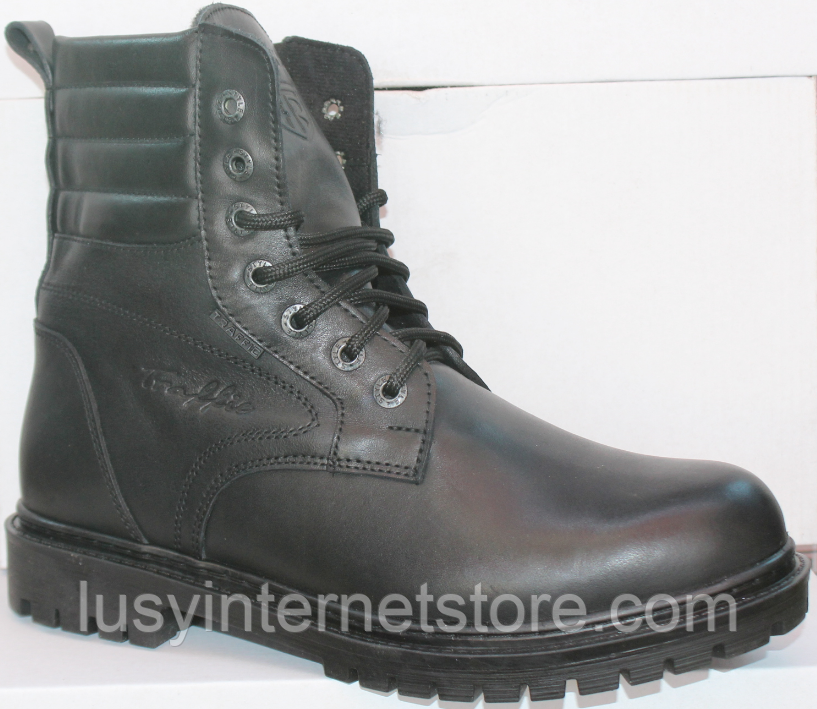 Берцы зимние мужские кожаные от производителя модель ТР1013