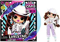 Кукла ЛОЛ ОМГ Леди-кантри серии Ремикс L.O.L Surprise! O.M.G. Remix LOL Lonestar Fashion Doll (567233)