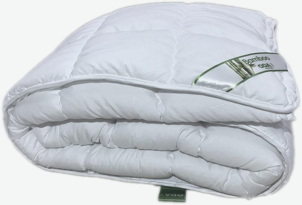 Одеяло стёганое наполнитель бамбуковое волокно полуторное 155Х210 см ODA SM 8401-1