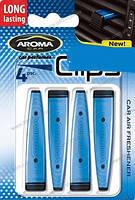 Ароматизатор на дефлектор Aroma Car Clips 4 x 5g, фото 1