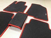 Автомобильные коврики EVA в багажник для MAZDA 3 2 BK . Мазда 3 2 БК