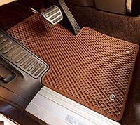 Автомобильные коврики EVA в багажник для Nissan Qashqai 2 . Ниссан Кашкай 2