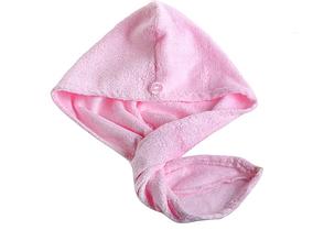 Полотенце- тюрбан для сушки волос бамбук