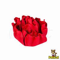 Пион красный из иранского фоамирана, диаметр 9 см 1 шт