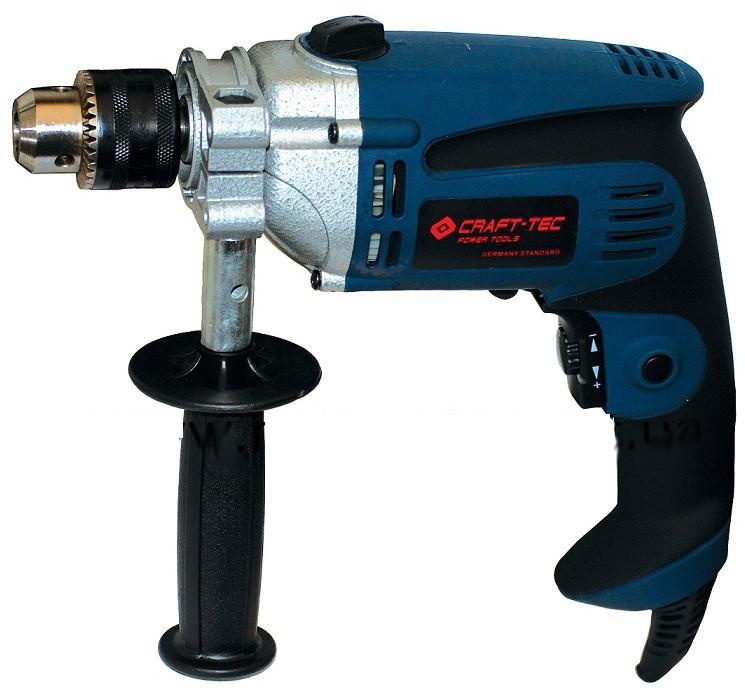 Дрель ударная Craft-tec CX-ID220 (850 Вт, железный ред)