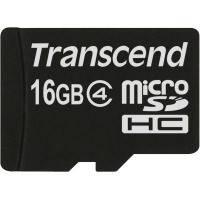 Карта памяти Transcend Micro SDHC 16Gb class 4