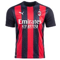 Футбольная форма Милана (домашняя), новый сезон 2020-2021, фото 1