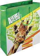 Пакет бумажный подарочный, 26х32см Animal Planet
