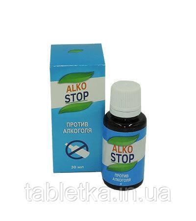 Капли от алкоголизма АлкоСтоп Alko Stop