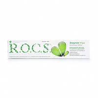Зубна паста R. O. C. S. Енергія ранку, подвійна м'ята, 74 г