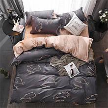Комплект постельного белья happy fish полуторный