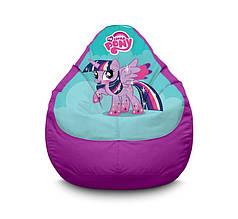 "Крісло мішок ""My Little Pony. Twilight Sparkle"" Оксфорд"