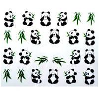 """Наклейки на гель лак """"Панда"""" - размер стикера 5*6см, инструкция есть в описании товара"""