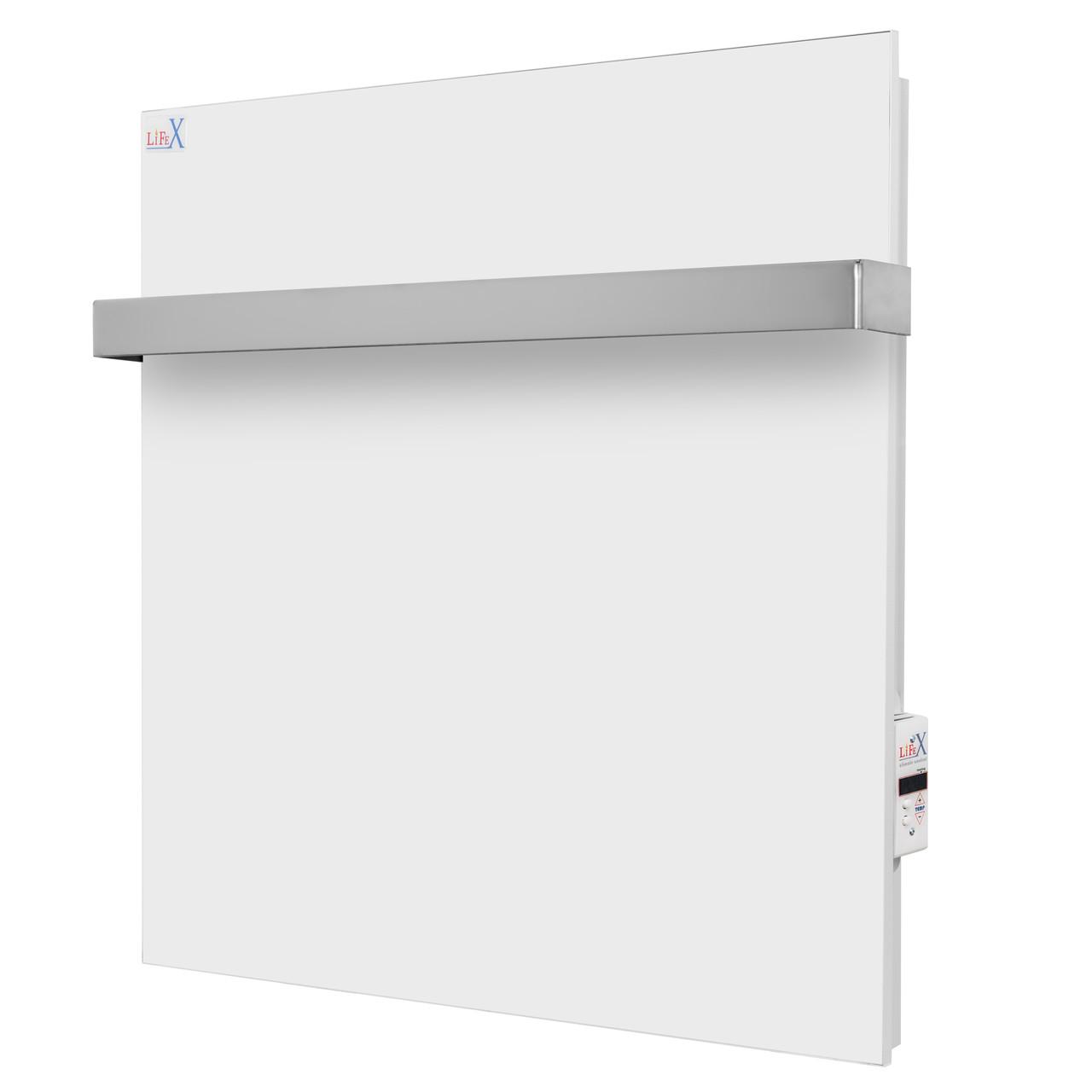 Керамический полотенцесушитель для ванной LifeX ПСК 400 белый (с программатором)