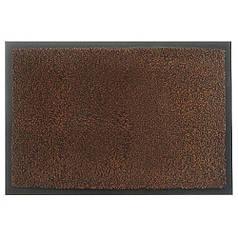 Брудозахисний килимок жорсткий петлевий утримує пісок Standart коричневий