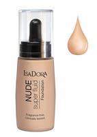 IsaDora Тональна основа Nude Sensation Fluid Foundation 12 - Nude Sand