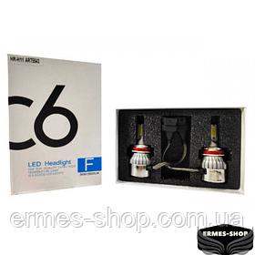 Комплект светодиодных LED ламп HeadLight H11