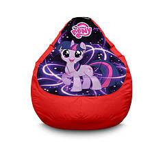 """Крісло мішок """"My Little Pony. Happy Twilight Sparkle"""" Оксфорд"""