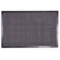 Решіток килимок волого і грязе вловлюючі розрізний ворс Comfort сірий 90*150